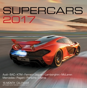Supercars 2017 16-Month Calendar September 2016 through December 2017