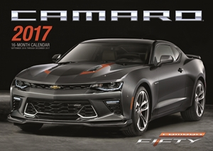 Camaro 2017 16-Month Calendar September 2016 through December 2017