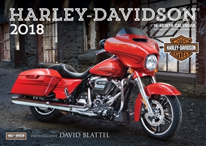 Harley-Davidson(r) 2018 16-Month Calendar Includes September 2017 through December 2018