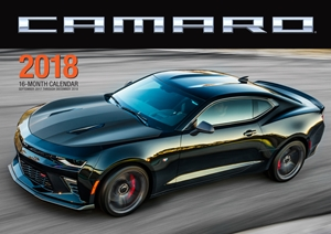 Camaro 2018 16 Month Calendar Includes September 2017 Through December 2018