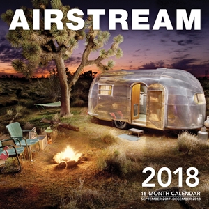 Airstream 2018 16 Month Calendar Includes September 2017 Through December 2018