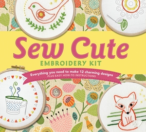 Cover of Sew Cute Embroidery Kit 9780760353141