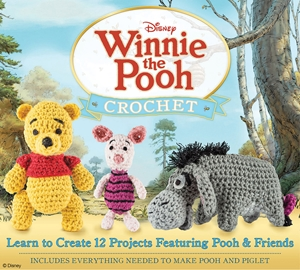 Cover of Winnie the Pooh Crochet 9780760353233