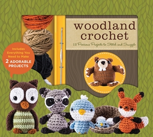Cover of Woodland Crochet 9780760353240