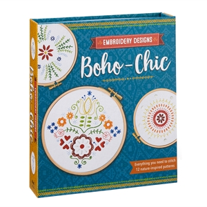 Embroidery Designs Boho-Chic