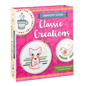 Classic Creations Everything You Need to Stitch 12 Decorative Patterns