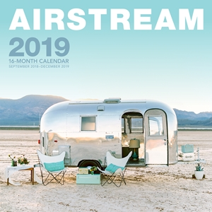 Airstream 2019 16-Month Calendar Includes September 2018 through December 2019
