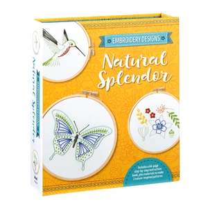 Embroidery Designs: Natural Splendor