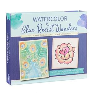 Watercolor Glue-Resist Wonders