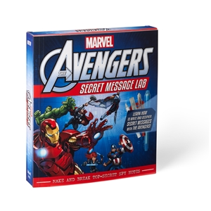 Marvel The Avengers: Secret Message Lab