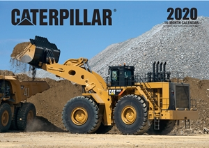 Caterpillar 2020 16-Month Calendar Includes September 2020 Through December 2020