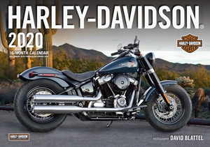 Harley-Davidson 2020 16 Month Calendar Includes September 2019 Through December 2020