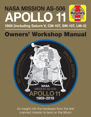 NASA Mission AS-506 Apollo 11 1969 (including Saturn V, CM-107, SM-107, LM-5)