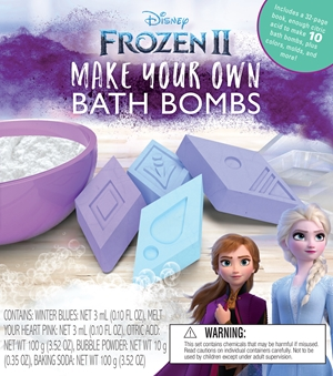 Frozen 2 Make Your Own Bath Bombs