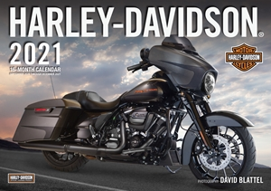 Harley-Davidson® 2021 16-Month Calendar - September 2020 through December 2021