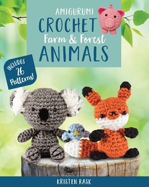Crochet Amigurumi Farm and Forest Animals