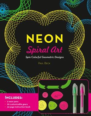 Neon Spiral Art