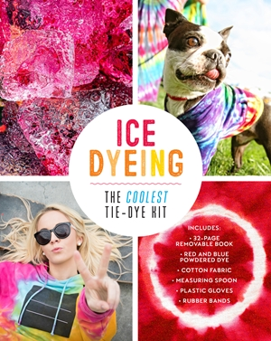 Ice Dyeing: The Coolest Tie-Dye Kit