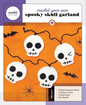 Crochet Your Own Spooky Skull Garland