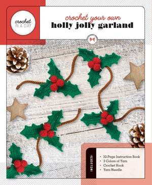 Crochet Your Own Holly Jolly Garland