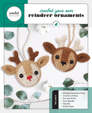 Crochet Your Own Reindeer Ornaments