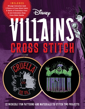Disney Villains Cross Stitch