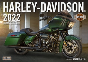 Harley-Davidson® 2022 16-Month Calendar - September 2021 through December 2022