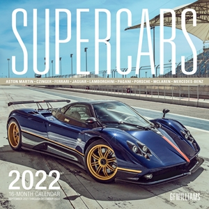 Supercars 2022 16-Month Calendar - September 2021 through December 2022