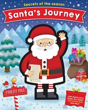 Santa's Journey Join Santa on a layer-by-layer Christmas Eve journey!