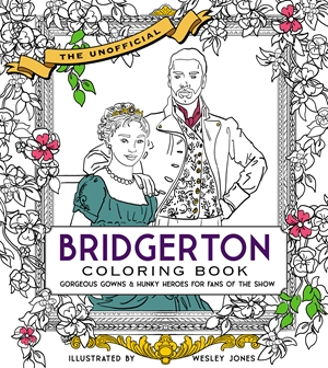 Unofficial Bridgerton Coloring Book