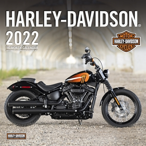 Harley-Davidson® 2022 16- Month Calendar September 2021 Through December 2022