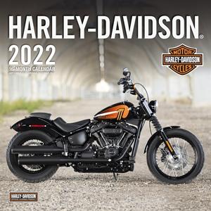Harley-Davidson® 2022 16- Month Calendar September 2021 Through December 2022
