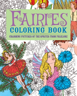 Fairies Coloring Book