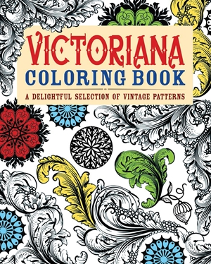 Victoriana Coloring Book