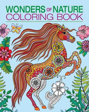 Wonders of Nature Coloring Book