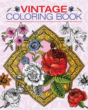 Vintage Coloring Book