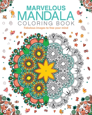 Marvelous Mandala Coloring Book