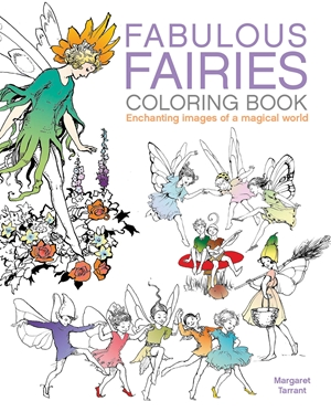 Fabulous Fairies Coloring Book
