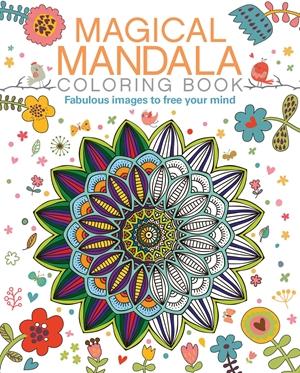 Magical Mandala Coloring Book