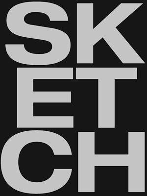 Sketch - Large Black