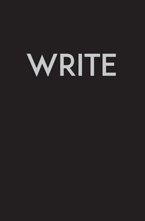 Write - Medium Black