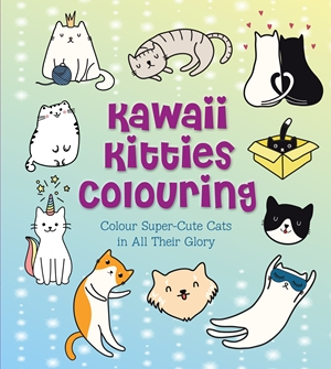 Kawaii Kitties Colouring