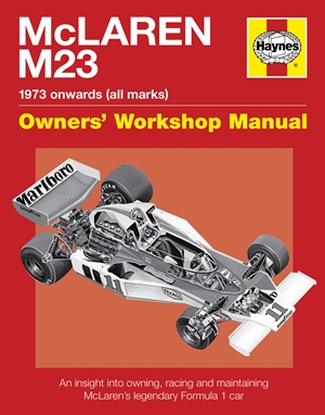 McLaren M23 1973 onwards (all marks)