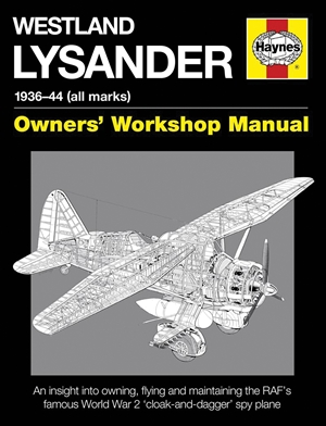 Westland Lysander Manual 1936-44 (all marks)