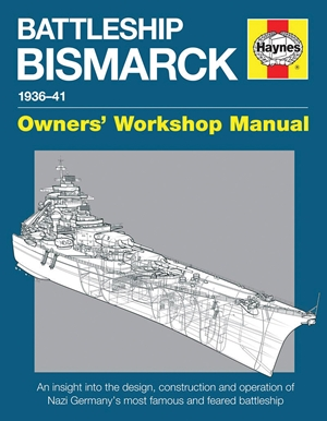 Battleship Bismarck Manual 1936-41