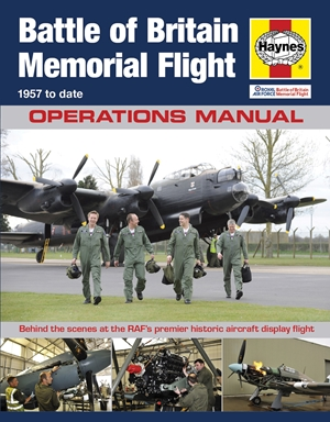 RAF Battle of Britain Memorial Flight Manual - 1957 to date