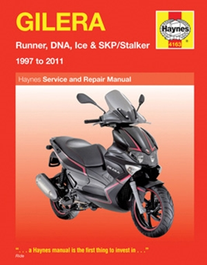 Gilera  Runner, DNA, Ice & SKP/Stalker 1997 to 2011