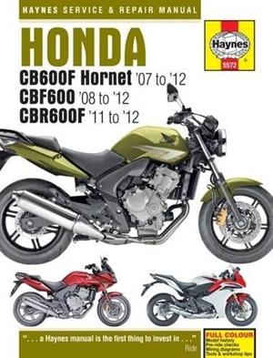 Honda CB600F Hornet (07-12), CBF600 (08-12) & CBR600F (11-12)