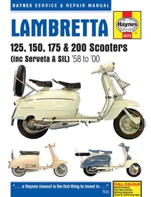Lambretta 125, 150, 175 & 200 Scooters
