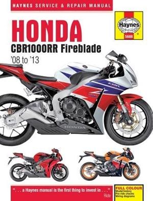 Honda CBR1000RR (Fireblade), '08-'13